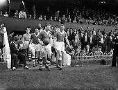 1960 - Soccer International Ireland v Iceland at Dalymount Park