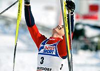 ◊Copyright:<br />GEPA pictures<br />◊Photographer:<br />Mario Kneisl<br />◊Name:<br />Bjoergen<br />◊Rubric:<br />Sport<br />◊Type:<br />Ski nordisch, Langlauf<br />◊Event:<br />FIS Nordische Ski WM 2005, Langlauf 30 km, Damen<br />◊Site:<br />Oberstdorf, Deutschland<br />◊Date:<br />26/02/05<br />◊Description:<br />Marit Bjoergen (NOR)<br />◊Archive:<br />DCSKN-2602054306<br />◊RegDate:<br />26.02.2005<br />◊Note:<br />8 MB - WU/WU - Nutzungshinweis: Es gelten unsere Allgemeinen Geschaeftsbedingungen (AGB) bzw. Sondervereinbarungen in schriftlicher Form. Die AGB finden Sie auf www.GEPA-pictures.com.<br />Use of picture only according to written agreements or to our business terms as shown on our website www.GEPA-pictures.com.