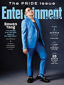 May 04, 2021 - US: Bowen Yang Covers Entertainment Weekly The Pride Issue
