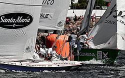 Quarter finals Ainslie vs Richards - Stena Match Cup Sweden 2010, Marstrand-Sweden. World Match Racing Tour. photo: Loris von Siebenthal - myimage
