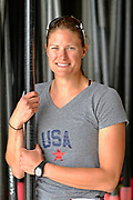 """San Diego, California. USA.  USA Double Olympian Gold Medalist,  Zsuzsanna """"Susan"""" FRANCIA, in  her role as  Women's Varsity coach at the San Diego Rowing Club. Mission Bay.  15:56:18.  Thursday  11/04/2013   [Mandatory Credit. Peter Spurrier/Intersport Images]"""