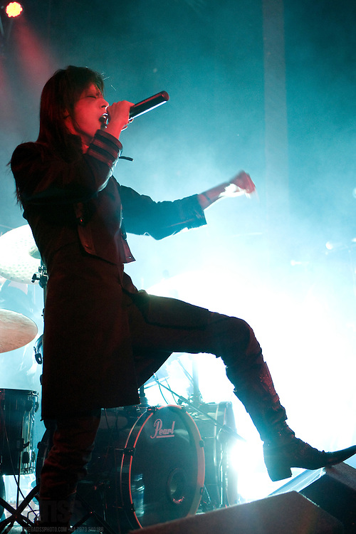 chthonic performing live at manchester academy 2, Manchester, uk, 2010-11-23