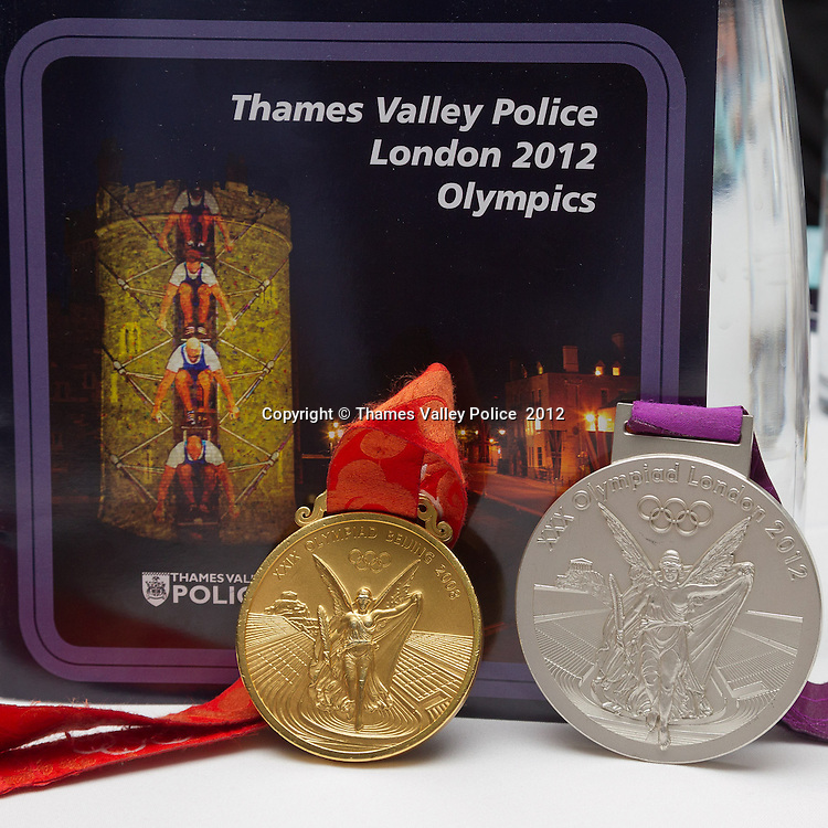Sara Thornton, Chief Constable of Thames Valley Police, holds an awards ceremony to  recognise the effort and service given in support of the Olympic and Paralympic Events at the Eton Dorney Rowing Lake during the XXX Olympiad, London 2012. Windsor, UNITED KINGDOM. November 27 2012. <br /> Photo Credit: MDOC/Thames Valley Police<br /> © Thames Valley Police 2012. All Rights Reserved. See instructions.