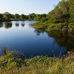 Clifford Road Pond in Plymouth, Massachusetts.
