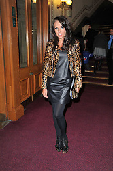 TAMARA ECCLESTONE at the opening night of Totem by Cirque du Soleil held at The Royal Albert Hall, London on 5th January 2011.