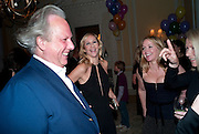 GRAYDON CARTER; TANIA BRYER; KATE REARDON; , Kate Reardon and Michael Roberts host a party to celebrate the launch of Vanity Fair on Couture. The Ballroom, Moet Hennessy, 13 Grosvenor Crescent. London. 27 October 2010. -DO NOT ARCHIVE-© Copyright Photograph by Dafydd Jones. 248 Clapham Rd. London SW9 0PZ. Tel 0207 820 0771. www.dafjones.com.
