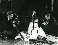 1921 Filming Land of Hope at Famous Players Lasky Studios in Hollywood