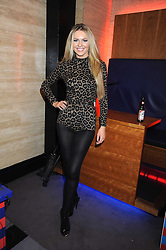 TV presenter ZOE SALMON at the launch of Nokia's 'Comes With Music' held at the Bloomsbury Ballroom, 37-63 Bloomsbury Square, London WC1 on 21st October 2008.
