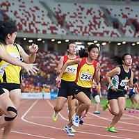 A Div Girls 4x400m