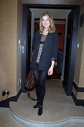 Actress ROSAMUND PIKE at a lunch hosted by Ralph Lauren to present their Spring 2007 collection in support of the Serpentine Gallery's Education Programme, held at Fifty, 50 St.James's Street, London SW1 on 20th March 2007.<br /><br />NON EXCLUSIVE - WORLD RIGHTS