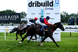 Tell William ridden by Martin Dwyer trained by Marcus Tregoning wins the Frome Scaffolding Handicap - Mandatory by-line: Robbie Stephenson/JMP - 27/08/2019 - PR - Bath Racecourse - Bath, England - Race Meeting at Bath Racecourse