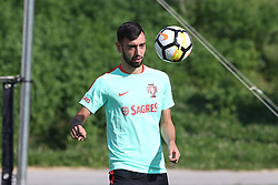 October 9, 2017 - Lisbon, Lisbon, Portugal - Portugals midfielder Bruno Fernandes in action during National Team Training session before the match between Portugal and Switzerland at City Football in Oeiras on October 9, 2017. (Credit Image: © Dpi/NurPhoto via ZUMA Press)