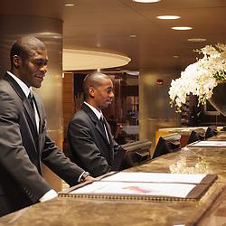 Recepção do HCTA Hotel de Convenções de Talatona, Lobby. Angola