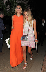 Celebrities leaving the annual Serpentine Summer Party, held in Hyde Park. 19 Jun 2018 Pictured: Lady Amelia Windsor. Photo credit: Will / MEGA TheMegaAgency.com +1 888 505 6342