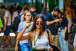 Movimento de Público durante o #FT18, realizado pela ADVB-RS, na ESPM-Sul. Inspirado em alguns dos maiores eventos do mundo de inovação e tendências (SXSW, Cannes Lions e Burning Man), o #FT18 é maior hub de conteúdo da história de Porto Alegre.  Foto: Leonardo Pachalski / Agência Preview