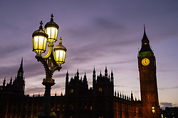 General view of the Houses of Parliament and Big Ben in Westminster, London. PRESS ASSOCIATION Photo. Picture date: Monday January 25, 2016. Photo credit should read: Dominic Lipinski/PA Wire