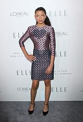 Elle Women in Hollywood Awards - Los Angeles. 16 Oct 2017 Pictured: Storm Reid. Photo credit: Jaxon / MEGA TheMegaAgency.com +1 888 505 6342