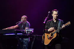 July 2, 2017 - Milwaukee, Wisconsin, U.S - JOSEPH WOOTEN and JACOB PETERSON of The Steve Miller Band performs live at Henry Maier Festival Park during Summerfest in Milwaukee, Wisconsin (Credit Image: © Daniel DeSlover via ZUMA Wire)