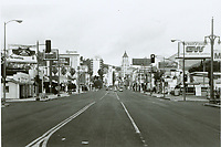 1970 Looking north on Highland Ave. from Pointsettia Ave.