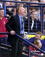 Photo: Jed Wee/Sportsbeat Images.<br /> Scotland v Ukraine. UEFA European Championships Qualifying. 13/10/2007.<br /> <br /> Scotland manager Alex McLeish.