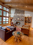 Editorial Architecture photography for AY Magazine of a house of Beaver Lake in Arkansas.
