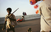 Early evening on Marine Drive, Bombay, India - 2003