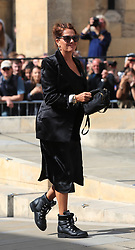 Tracey Emin arriving at York Minster for the wedding of singer Ellie Goulding to Caspar Jopling.