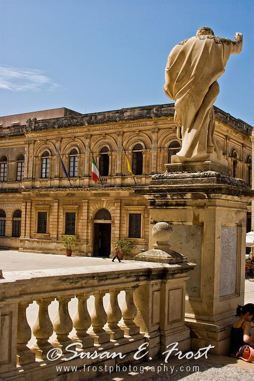 Roman Statue at Orytia, Sicily