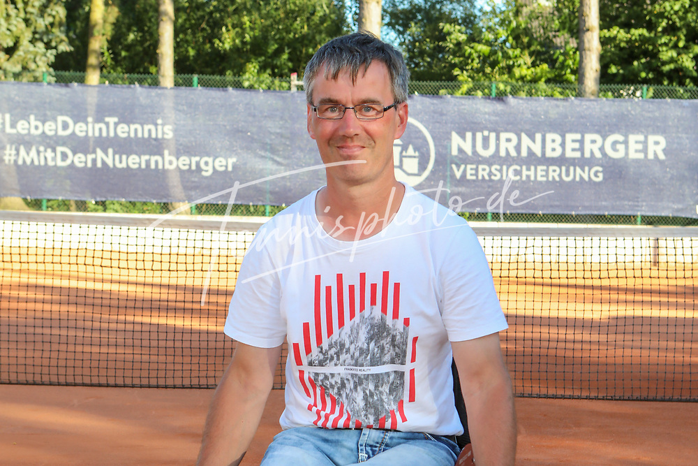 Mario Mani, DTB Team im Rollstuhltennis, 30. German Open Rollstuhltennis, Berlin, 07.07.2018, Foto: Claudio Gärtner
