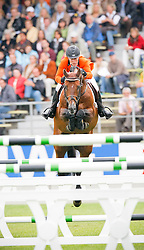 Hoorn Angelique (NED) - Blauwendraad's O'Brian<br /> CHIO Aachen 2008<br /> Photo © Hippo Foto