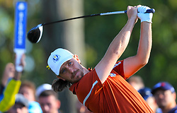 Team Europe's Tommy Fleetwood on the 14th during the Foursomes match on day two of the Ryder Cup at Le Golf National, Saint-Quentin-en-Yvelines, Paris. PRESS ASSOCIATION Photo. Picture date: Saturday September 29, 2018. See PA story GOLF Ryder. Photo credit should read: Gareth Fuller/PA Wire. RESTRICTIONS: Use subject to restrictions. Written editorial use only. No commercial use.