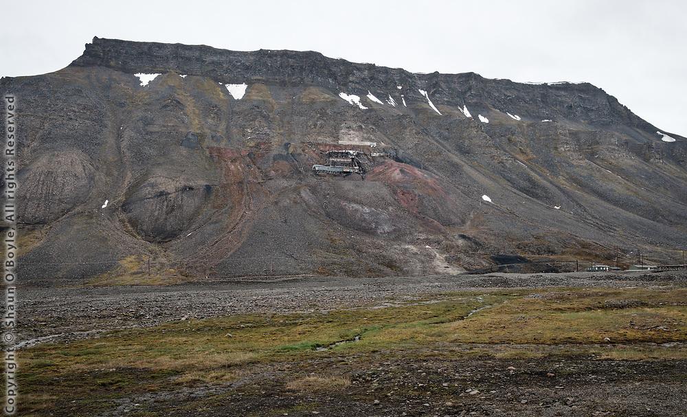 Mine 2B, Nybyen, Spitsbergen