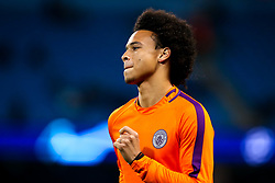 Leroy Sane of Manchester City - Mandatory by-line: Robbie Stephenson/JMP - 19/09/2018 - FOOTBALL - Etihad Stadium - Manchester, England - Manchester City v Lyon - UEFA Champions League Group F