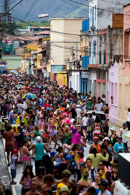 Sao Joao Del Rei_MG, Brasil...Bloco das Piranhas no carnaval de Sao Joao Del Rei...The Piranhas block in Carnival in Sao Joao Del Rei...Foto: LEO DRUMOND /  NITRO