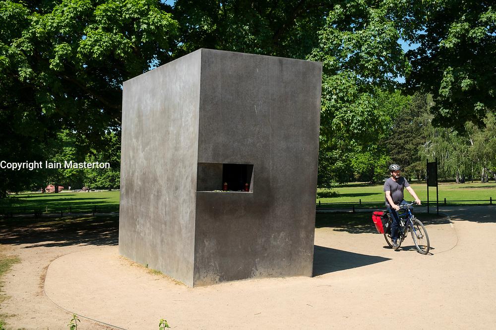 Memorial for Homosexuals Persecuted Under the Nazis in Tiergarten, Berlin, Germany