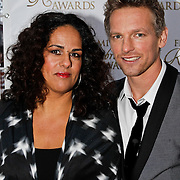 NLD/Amsterdam/20100322 -  Uitreiking Rembrandt Awards 2009, Barry Atsma en partner Izaira Kersten