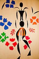 "National Gallery, Washington DC. Cutout by Henri Matisse. ""The Negress"""