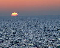 Sunset over the Bay of Bengal from the deck of the MV World Odyssey. Image taken with a Leica T camera and 18-56 mm or 55-135 mm lens.