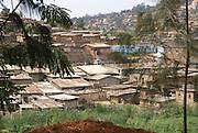 Rwanda, Kigali, hovels