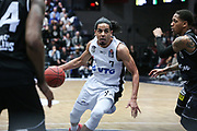 Basketball: 1. Bundesliga, Hamburg Towers - Hakro Merlins Crailsheim 91:92, Hamburg, 29.02.2020<br /> Jorge Guiterrez (Towers)<br /> © Torsten Helmke