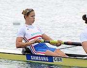 Reading, Great Britain, GBR W8+ group. 2011 GBRowing World Rowing Championship, Team Announcement.  GB Rowing  Caversham Training Centre.  Tuesday  19/07/2011  [Mandatory Credit. Peter Spurrier/Intersport Images] Jo Cook.