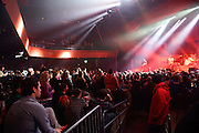 British indie rock band Bloc Party performing at the Pageant in St. Louis on January 19, 2013.