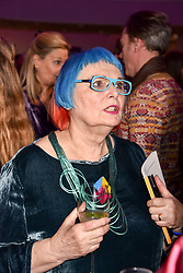 Susie Allen at CURE³ - private view in aid of The Cure Parkinsons Trust held at Bonhams, 101 New Bond Street, London England. 13 March 2017.