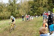 Friday 1 November 2013: Action from the Koppenbergcross 2013 Beloften race.  Copyright 2013 Peter Horrell