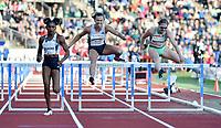 Friidrett , 13. juni 2019 , Bislett Games , Diamond League ,<br /> Isabelle Pedersen , Nadine Visser , Christina Clemons , 100 m hurdles