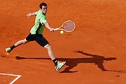 Roland Garros. Paris, France. May 28th 2012.Spanish player Guillermo GARCIA-LOPEZ against Michael LLODRA...