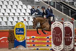 Vrins Nick, BEL, Rocco E<br /> Pavo Hengsten competitie - Oudsbergen 2021<br /> © Hippo Foto - Dirk Caremans<br />  22/02/2021