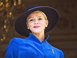 November 19, 2017 - Monte Carlo, MONACO - 19-11-2017 Monaco Princess Charlene of Monaco during the Monaco National Day Celebrations in Monaco...© PPE/Nieboer.Credit: PPE/face to face.- No rights for the Netherlands  (Credit Image: © face to face via ZUMA Press)
