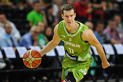 Goran Dragic of Slovenia during friendly match between National Teams of Slovenia and New Zealand before World Championship Spain 2014 on August 16, 2014 in Kaunas, Lithuania. Photo by Robertas Dackus  Sportida.com