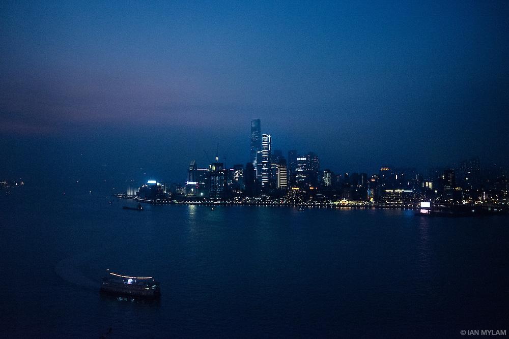 Nightfall Over Kowloon